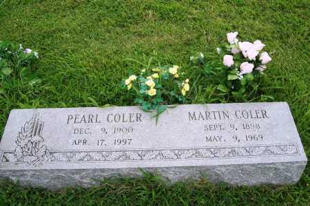 COLER, PEARL - Benton County, Arkansas | PEARL COLER - Arkansas Gravestone Photos