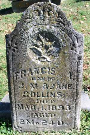 COLLINS, FRANCIS I. - Benton County, Arkansas | FRANCIS I. COLLINS - Arkansas Gravestone Photos
