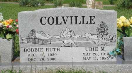 COLVILLE, BOBBIE RUTH - Benton County, Arkansas | BOBBIE RUTH COLVILLE - Arkansas Gravestone Photos
