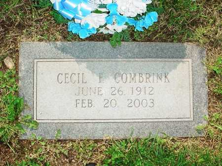 COMBRINK, CECIL F. - Benton County, Arkansas | CECIL F. COMBRINK - Arkansas Gravestone Photos