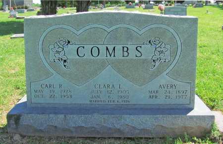 COMBS, CLARA L. - Benton County, Arkansas | CLARA L. COMBS - Arkansas Gravestone Photos
