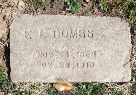 COMBS, E. L. - Benton County, Arkansas | E. L. COMBS - Arkansas Gravestone Photos