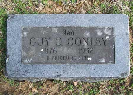 CONLEY, GUY O. - Benton County, Arkansas   GUY O. CONLEY - Arkansas Gravestone Photos