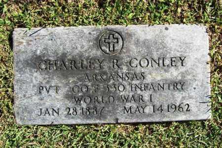 CONLEY (VETERAN WWI), CHARLEY R - Benton County, Arkansas   CHARLEY R CONLEY (VETERAN WWI) - Arkansas Gravestone Photos