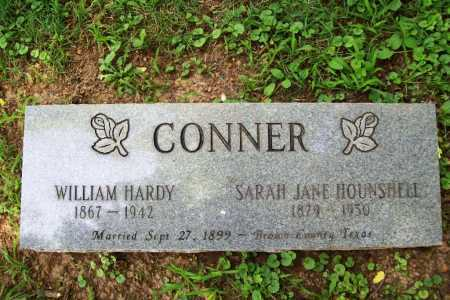 HOUNSHELL CONNER, SARAH JANE - Benton County, Arkansas | SARAH JANE HOUNSHELL CONNER - Arkansas Gravestone Photos