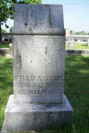 COOK, FRED A. - Benton County, Arkansas | FRED A. COOK - Arkansas Gravestone Photos