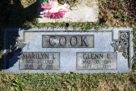 COOK, GLENN E. - Benton County, Arkansas | GLENN E. COOK - Arkansas Gravestone Photos