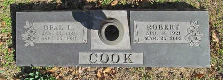 COOK, OPAL L - Benton County, Arkansas | OPAL L COOK - Arkansas Gravestone Photos