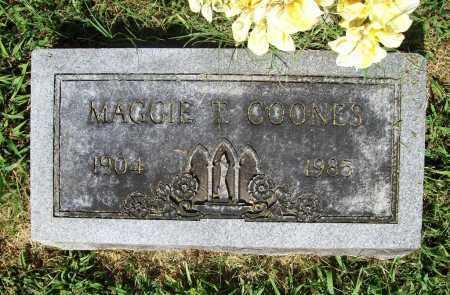 COONES, MAGGIE T. - Benton County, Arkansas | MAGGIE T. COONES - Arkansas Gravestone Photos