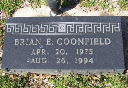COONFIELD, BRIAN E. - Benton County, Arkansas | BRIAN E. COONFIELD - Arkansas Gravestone Photos