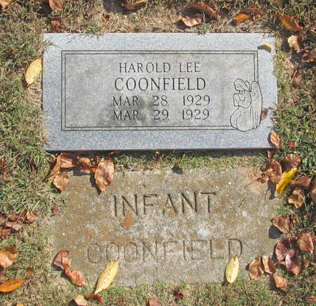 COONFIELD, HAROLD LEE - Benton County, Arkansas   HAROLD LEE COONFIELD - Arkansas Gravestone Photos