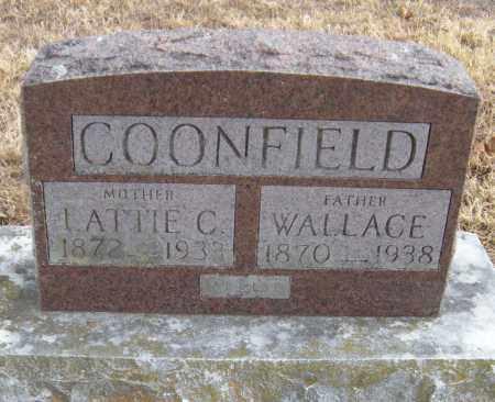 LITTLE COONFIELD, LATTIE C - Benton County, Arkansas | LATTIE C LITTLE COONFIELD - Arkansas Gravestone Photos