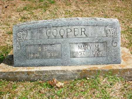 COOPER, MARY M. - Benton County, Arkansas | MARY M. COOPER - Arkansas Gravestone Photos