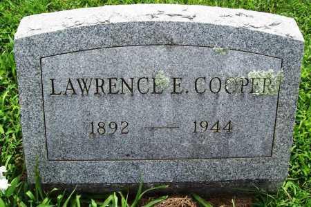 COOPER, LAWRENCE E. - Benton County, Arkansas   LAWRENCE E. COOPER - Arkansas Gravestone Photos