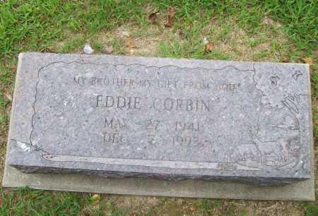 CORBIN, EDDIE - Benton County, Arkansas | EDDIE CORBIN - Arkansas Gravestone Photos
