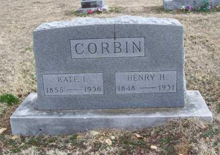 CORBIN, HENRY H. - Benton County, Arkansas | HENRY H. CORBIN - Arkansas Gravestone Photos