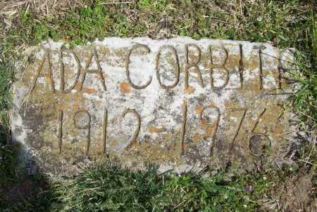 PLATTS CORBITT, ADA DOLORES - Benton County, Arkansas | ADA DOLORES PLATTS CORBITT - Arkansas Gravestone Photos