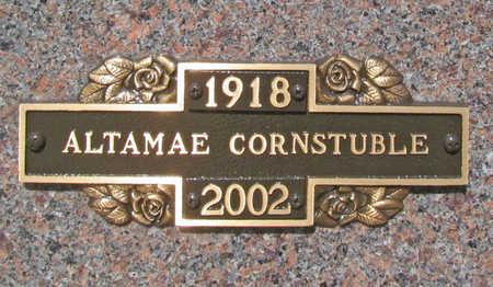 CORNSTUBLE, ALTAMAE - Benton County, Arkansas | ALTAMAE CORNSTUBLE - Arkansas Gravestone Photos