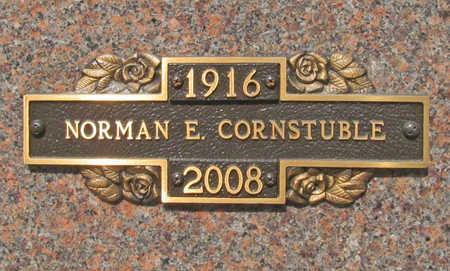 CORNSTUBLE, NORMAN EDGAR - Benton County, Arkansas | NORMAN EDGAR CORNSTUBLE - Arkansas Gravestone Photos