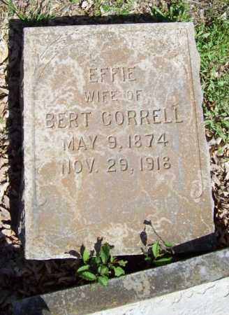 CORRELL, EFFIE - Benton County, Arkansas | EFFIE CORRELL - Arkansas Gravestone Photos