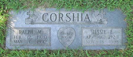 CORSHIA, RALPH M SR - Benton County, Arkansas   RALPH M SR CORSHIA - Arkansas Gravestone Photos