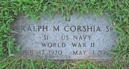 CORSHIA (VETERAN WWII), RALPH M SR - Benton County, Arkansas | RALPH M SR CORSHIA (VETERAN WWII) - Arkansas Gravestone Photos