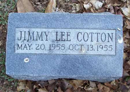 COTTON, JIMMY LEE - Benton County, Arkansas | JIMMY LEE COTTON - Arkansas Gravestone Photos