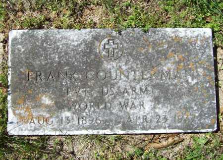 COUNTERMAN (VETERAN WWI), FRANK - Benton County, Arkansas | FRANK COUNTERMAN (VETERAN WWI) - Arkansas Gravestone Photos