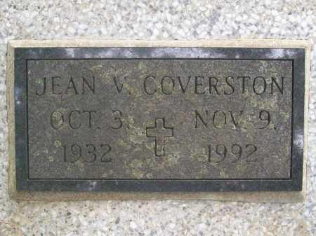 COVERSTON, JEAN VIRGINIA - Benton County, Arkansas | JEAN VIRGINIA COVERSTON - Arkansas Gravestone Photos