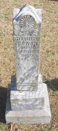 COWAN, DAVID R. - Benton County, Arkansas | DAVID R. COWAN - Arkansas Gravestone Photos
