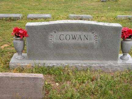 COWAN FAMILY STONE,  - Benton County, Arkansas |  COWAN FAMILY STONE - Arkansas Gravestone Photos
