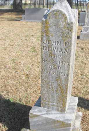 COWAN, JOHN H. - Benton County, Arkansas | JOHN H. COWAN - Arkansas Gravestone Photos