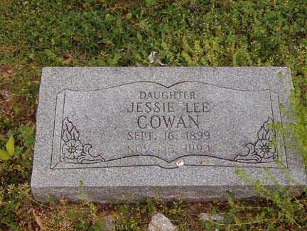COWAN, JESSIE LEE - Benton County, Arkansas | JESSIE LEE COWAN - Arkansas Gravestone Photos