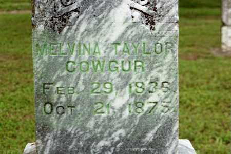 TAYLOR COWGUR, MELVINA - Benton County, Arkansas | MELVINA TAYLOR COWGUR - Arkansas Gravestone Photos