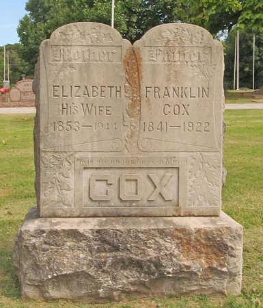 COX (VETERAN), FRANKLIN - Benton County, Arkansas | FRANKLIN COX (VETERAN) - Arkansas Gravestone Photos