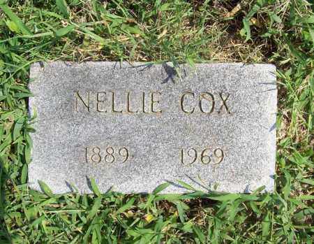 COX, NELLIE (ORIGINAL) - Benton County, Arkansas | NELLIE (ORIGINAL) COX - Arkansas Gravestone Photos