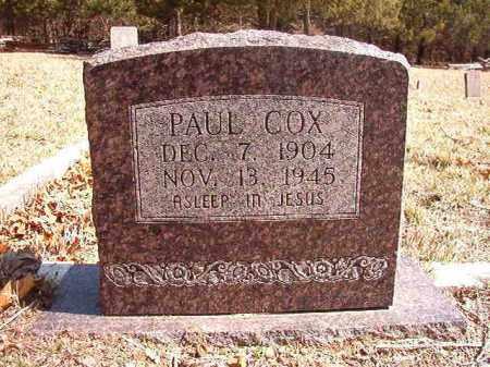 COX, PAUL - Benton County, Arkansas   PAUL COX - Arkansas Gravestone Photos