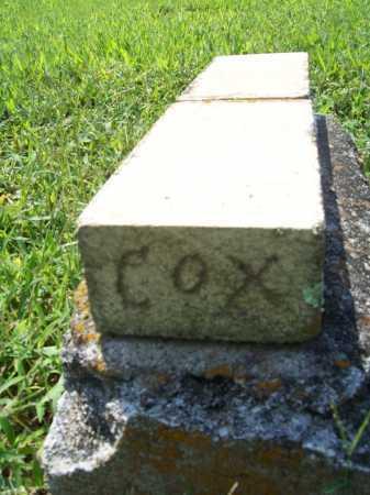 COX, UNKNOWN - Benton County, Arkansas   UNKNOWN COX - Arkansas Gravestone Photos