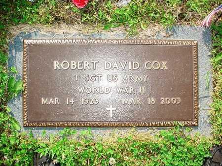 COX (VETERAN WWII), ROBERT DAVID - Benton County, Arkansas | ROBERT DAVID COX (VETERAN WWII) - Arkansas Gravestone Photos