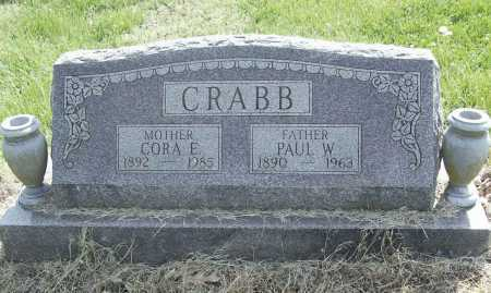 CRABB, PAUL W. - Benton County, Arkansas | PAUL W. CRABB - Arkansas Gravestone Photos