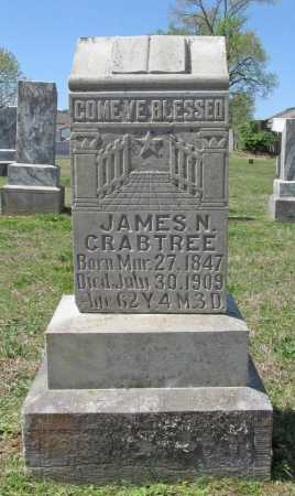 CRABTREE, JAMES N - Benton County, Arkansas   JAMES N CRABTREE - Arkansas Gravestone Photos
