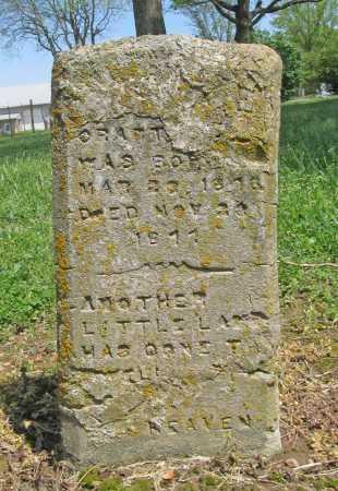 CRABTREE, CHILD - Benton County, Arkansas | CHILD CRABTREE - Arkansas Gravestone Photos