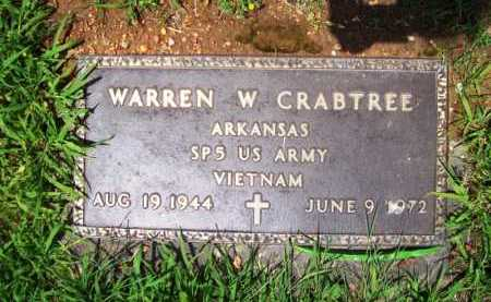 CRABTREE (VETERAN VIET), WARREN W. - Benton County, Arkansas | WARREN W. CRABTREE (VETERAN VIET) - Arkansas Gravestone Photos