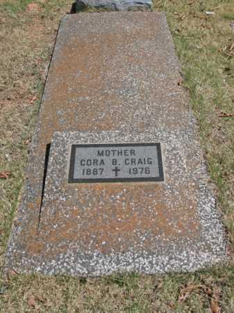 CRAIG, CORA B. - Benton County, Arkansas | CORA B. CRAIG - Arkansas Gravestone Photos