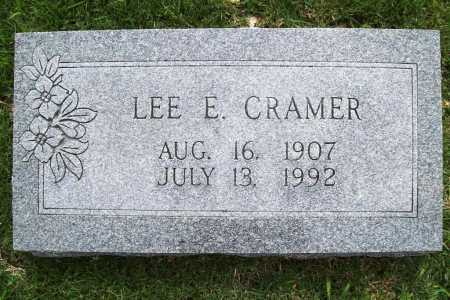 CRAMER, LEE E. - Benton County, Arkansas | LEE E. CRAMER - Arkansas Gravestone Photos