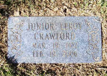 CRAWFORD, JUNIOR LEROY - Benton County, Arkansas   JUNIOR LEROY CRAWFORD - Arkansas Gravestone Photos