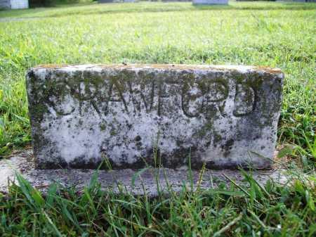 CRAWFORD, UNKNOWN - Benton County, Arkansas   UNKNOWN CRAWFORD - Arkansas Gravestone Photos