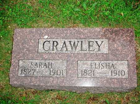 CRAWLEY, SARAH - Benton County, Arkansas | SARAH CRAWLEY - Arkansas Gravestone Photos