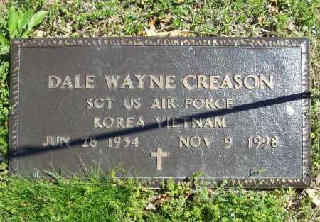 CREASON (VETERAN 2 WARS), DALE WAYNE - Benton County, Arkansas | DALE WAYNE CREASON (VETERAN 2 WARS) - Arkansas Gravestone Photos