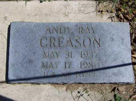 CREASON (VETERAN), ANDY RAY - Benton County, Arkansas | ANDY RAY CREASON (VETERAN) - Arkansas Gravestone Photos